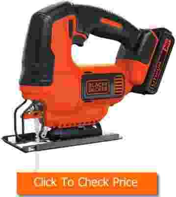 BLACK+DECKER 20V MAX JigSaw with Battery And Charger BDCJS20C