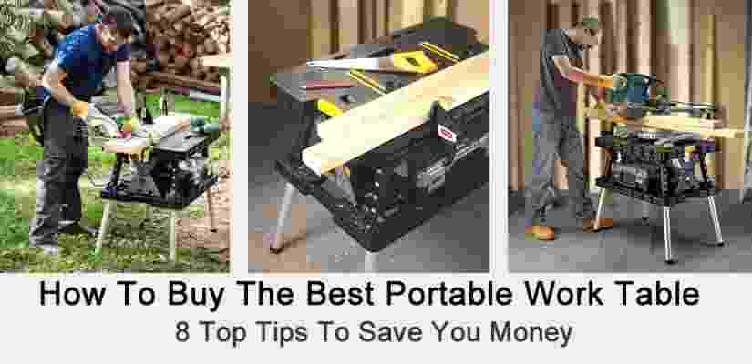the best portable work table
