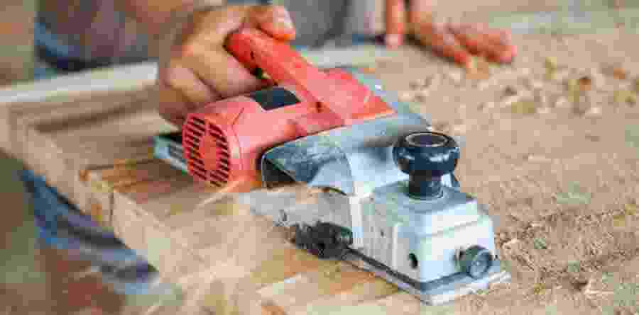 how to use a planer on a table top
