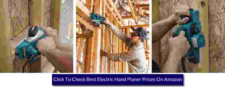 using an electric planer on ceiling joists