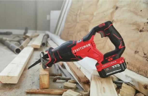Craftsman CMCS350B V20 BRUSHLESS CORDLESS RECIPROCATING SAW review