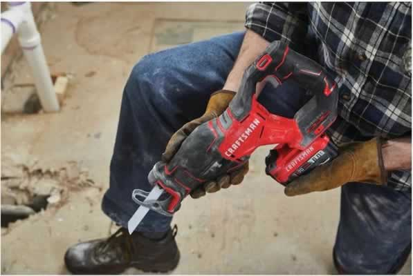 Craftsman V20 BRUSHLESS CORDLESS RECIPROCATING SAW CMCS350B