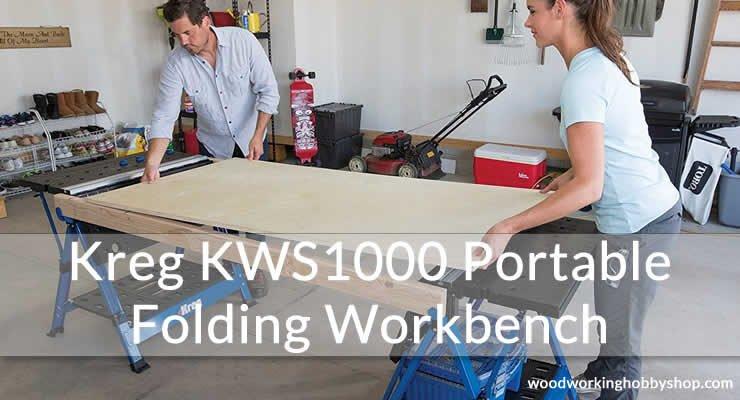 Kreg KWS1000 Portable Folding Workbench